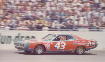 richard petty king 43 nascar charlotte motor speedway world 600 dodge charger mopar